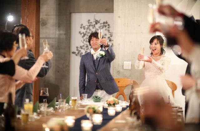 家族と楽しむ結婚式【お急ぎ婚 直近でも安心 アットホーム会食W】